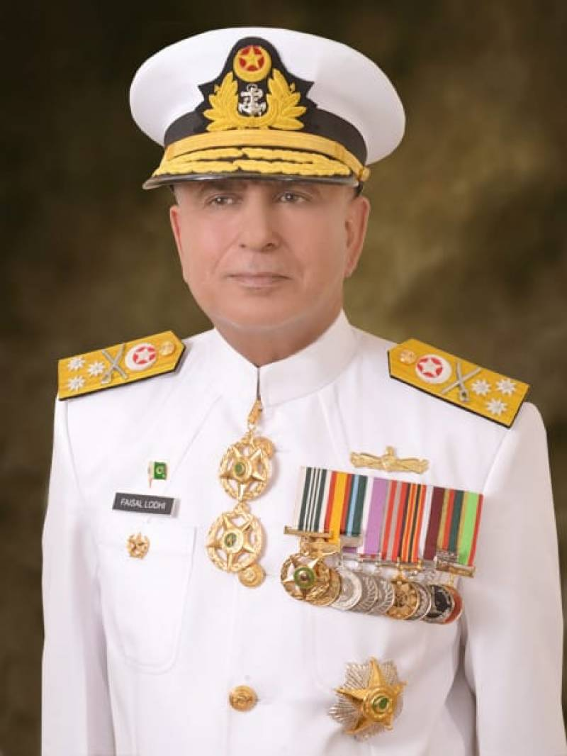 Faisal Lodhi appointed as Vice Chief of Naval Staff