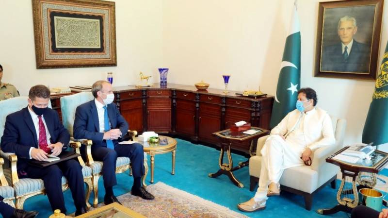 PM, British Foreign Secretary discuss situation in Afghanistan