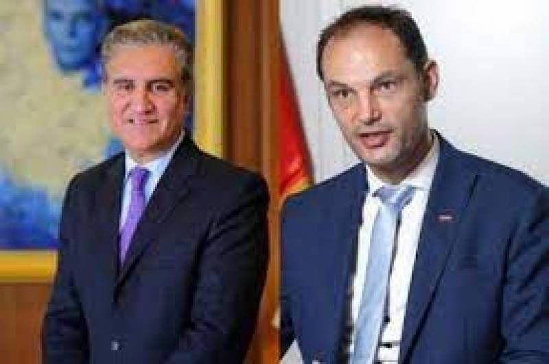 Qureshi, Slovenian counterpart discuss latest developments in Afghanistan