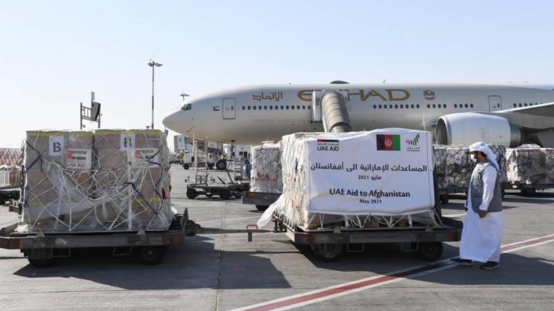 UAE sends plane carrying aid to Afghanistan: state media