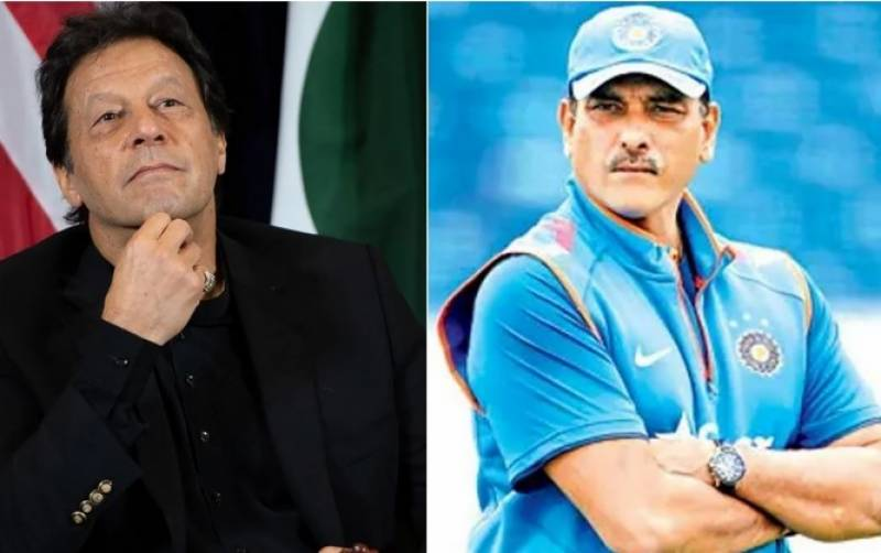 Ravi Shastri admits Imran Khan was one of the greatest captains