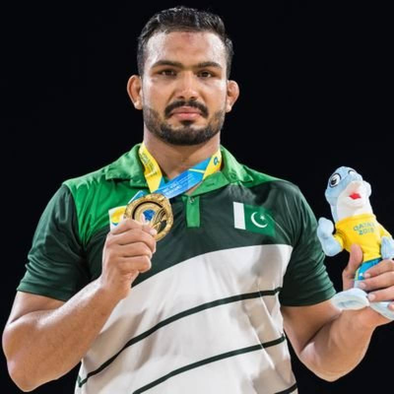 Pakistani wrestler Inam Butt becomes champion of World Beach Wrestling for third consecutive time