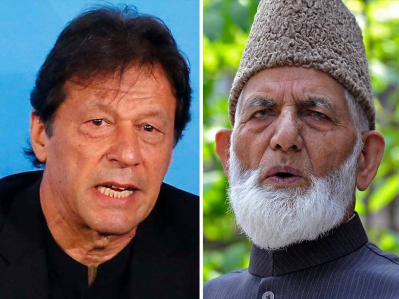 PM Imran flays India for snatching Geelani's body, FIR against family