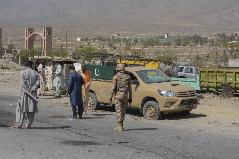 4 FC men martyred as TTP bomber hits forces vehicle in Quetta