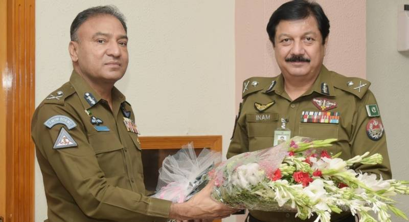 Farewell ceremony held for outgoing Punjab IGP Inam Ghani