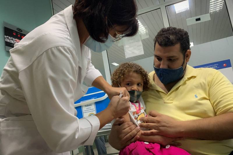 In world first, Cuba starts Covid jabs for toddlers