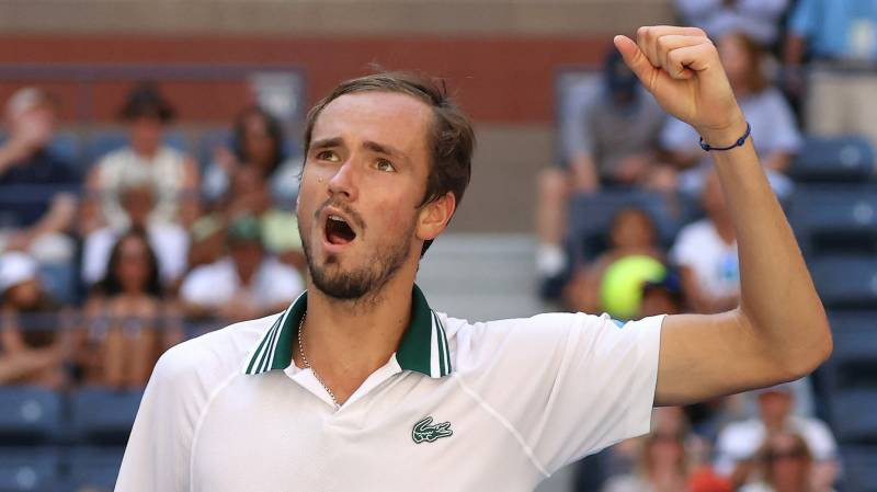Russian second seed Medvedev advances to US Open semi-finals