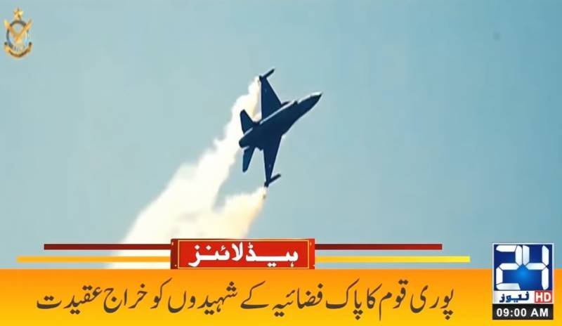 Nation observes Air Force Day with zeal