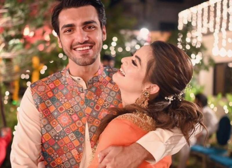 The moment has arrived for Minal Khan & Ahsan Mohsin