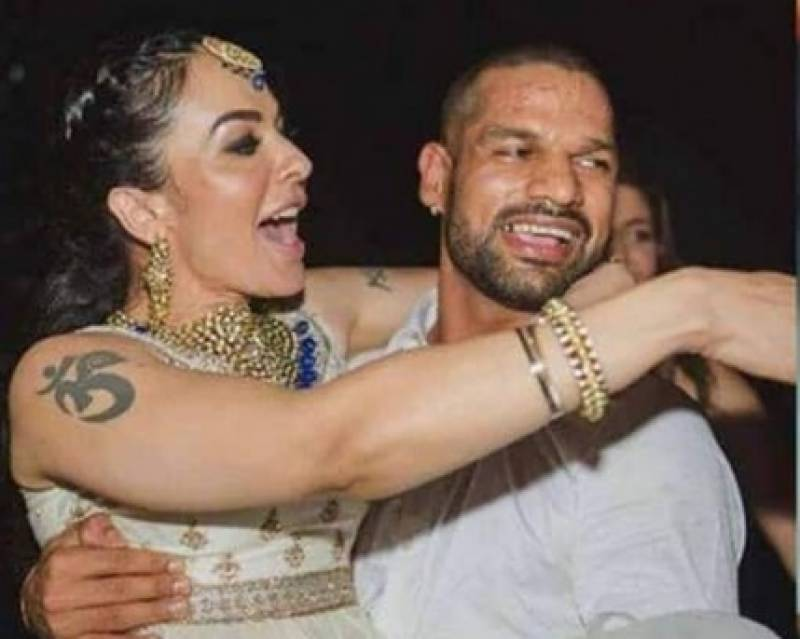 Indian cricketer Shikhar Dhawan's wife clean-bowled him out of her life