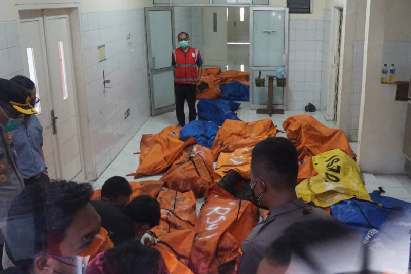 Fire at overcrowded Indonesian prison kills 41