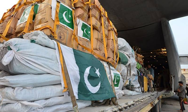 Pakistan sends relief supplies to Afghanistan