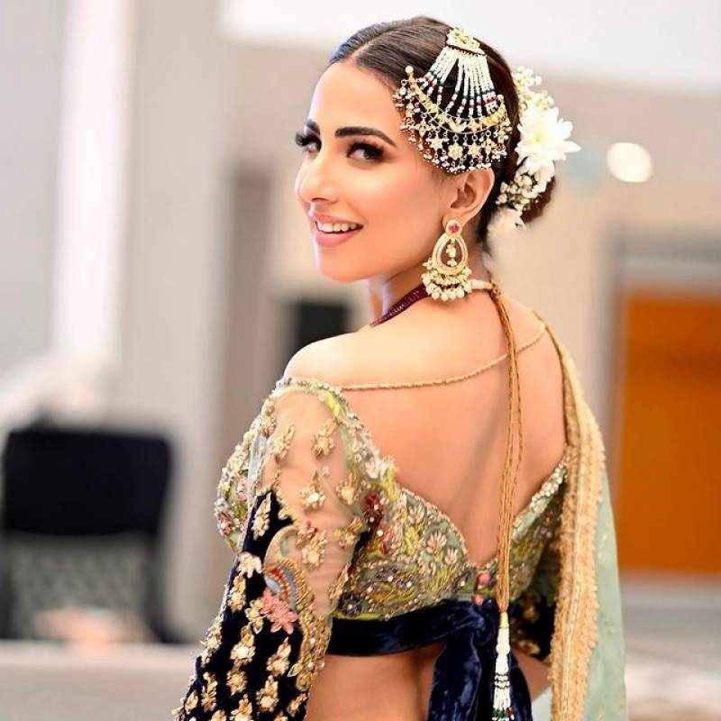 Ushna Shah's bold attire does not go down well with netizens
