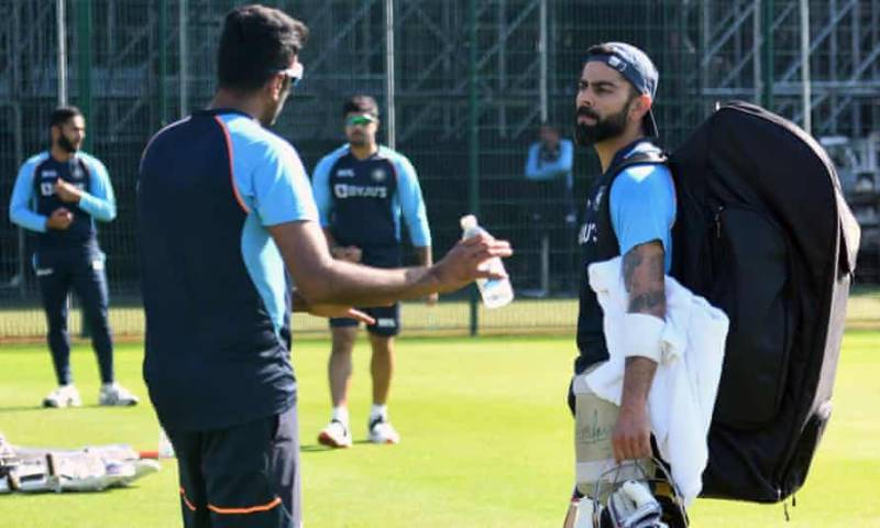 India cancel training session ahead of 5th Test after 'new virus case'