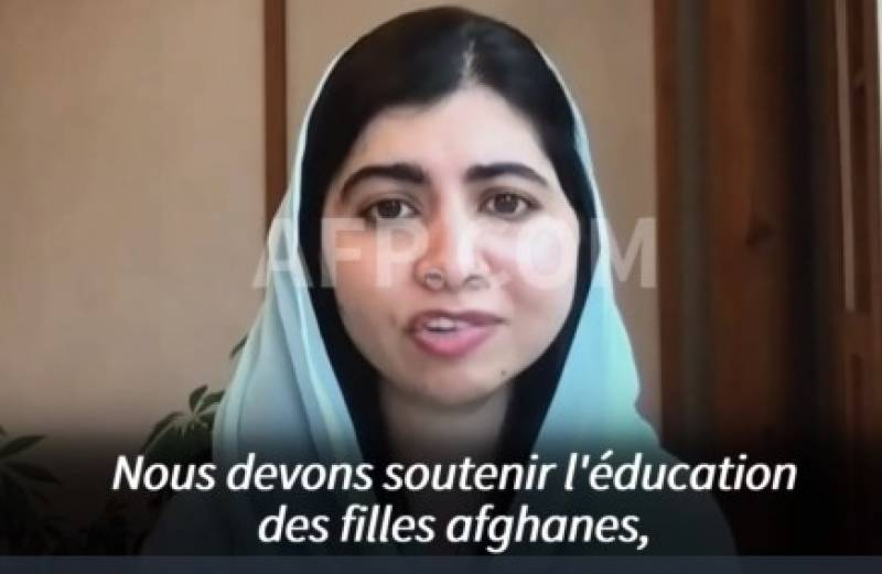 Malala asks UN to link any relationship with Taliban to rights of women, girls