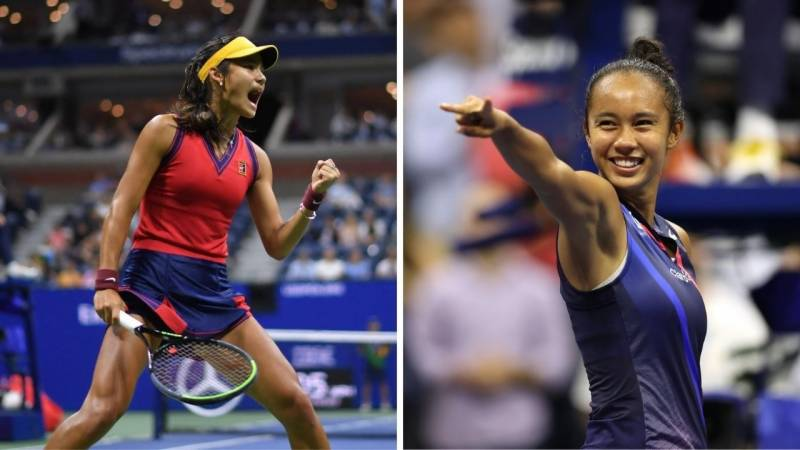 Only one fairytale finish in teenager showdown at US Open final