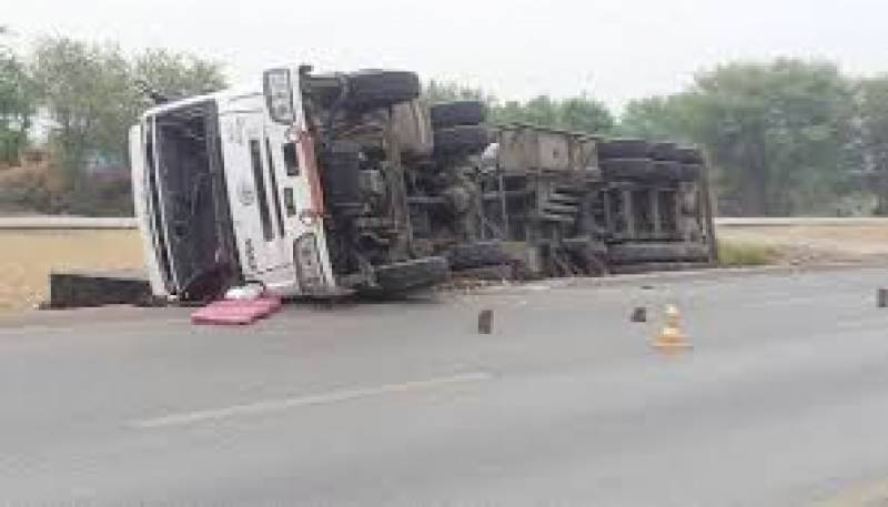 Four crushed to death by truck in Khuzdar