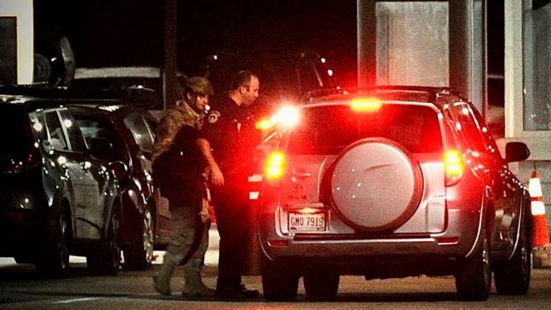 US air base gives all-clear after active shooter reports