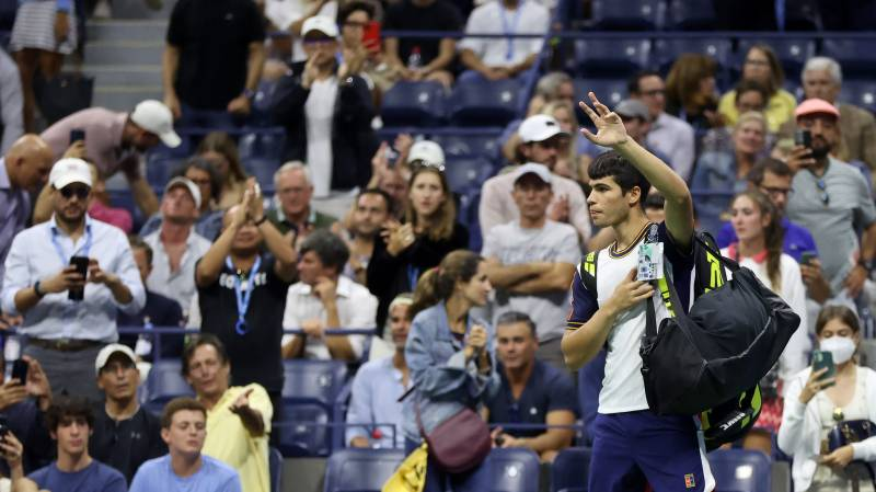 Thigh injury brings early end to Alcaraz dream US Open run