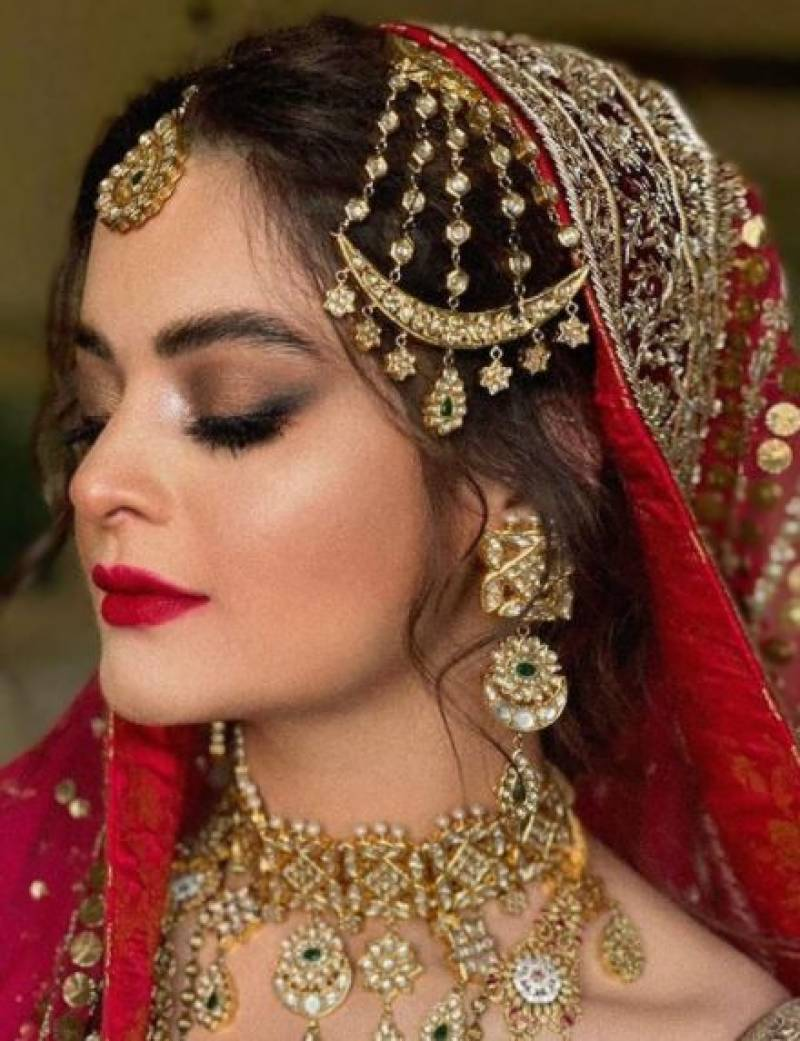 Bride Minal Khan doesn't wait for walima, changes her last name on Instagram