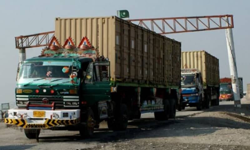250 stranded containers enter Pakistan from Afghanistan