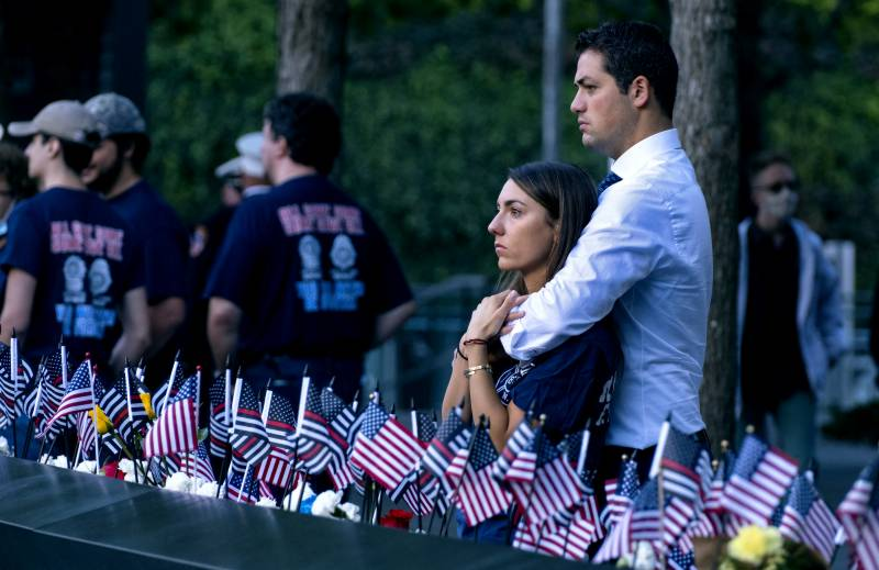 Calls for unity as divided US marks 20th anniversary of 9/11