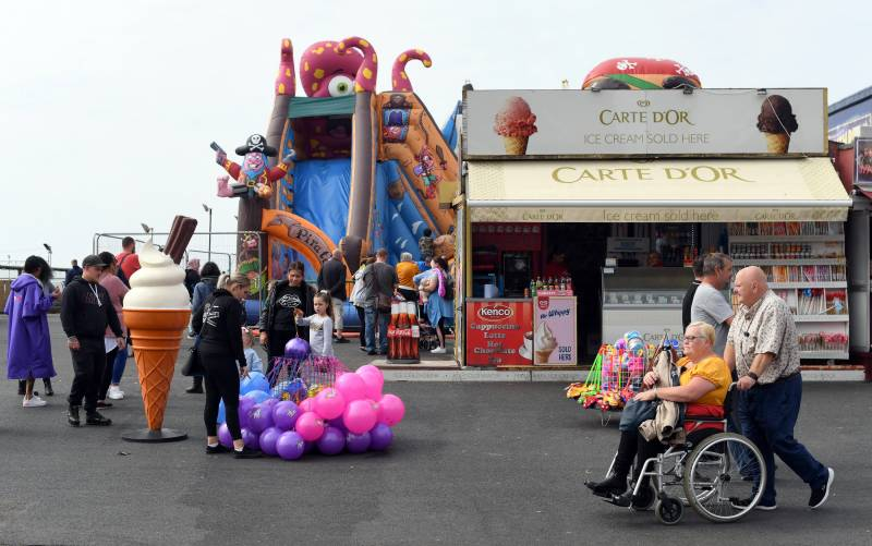 Domestic tourism boom gives UK seaside new lease of life