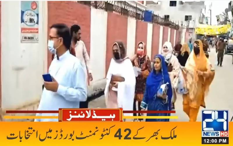 Cantonment board elections: polling time ends, counting underway across Pakistan