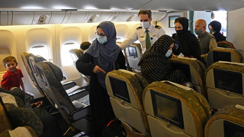 First foreign commercial flight since Taliban takeover lands in Kabul: AFP