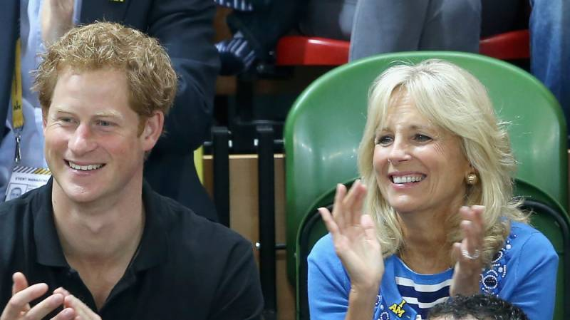 Jill Biden, Prince Harry to host event for wounded soldiers