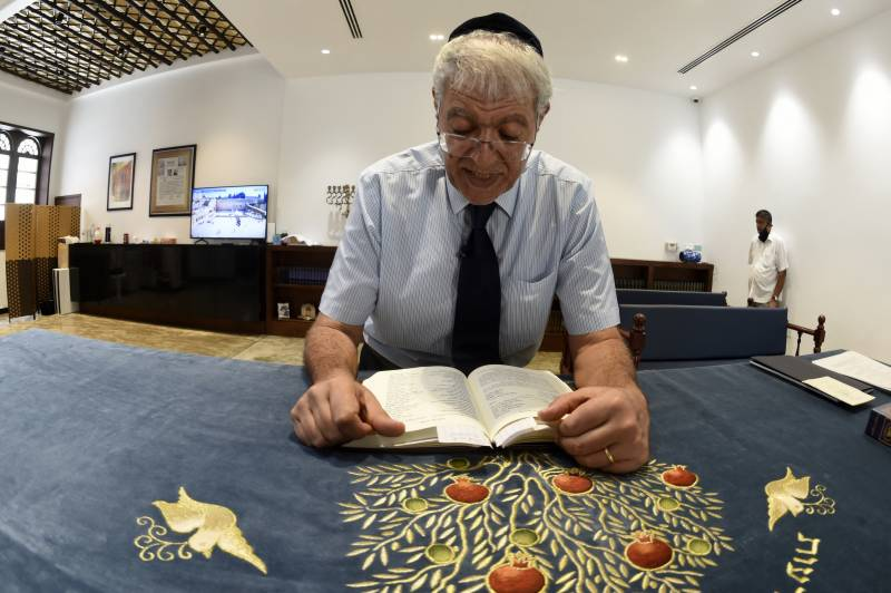 Bahrain's Jews worship in public for first time in decades