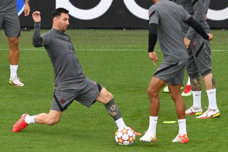 Messi gets first PSG start against Club Brugge in Champions League