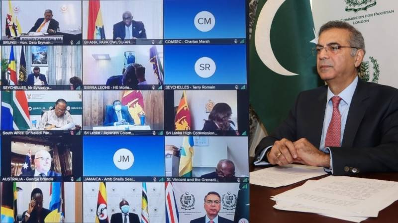 Pakistan's High Commissioner to UK briefs Commonwealth Ministers on Afghanistan