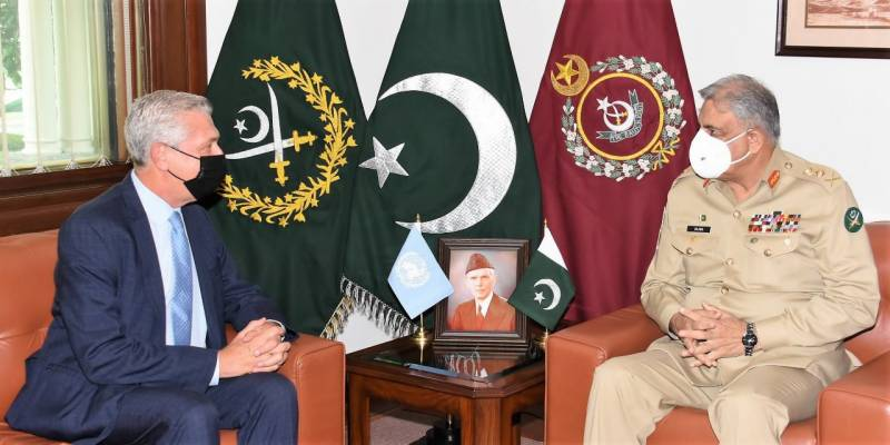 United Nations High Commissioner for Refugees calls on COAS Bajwa