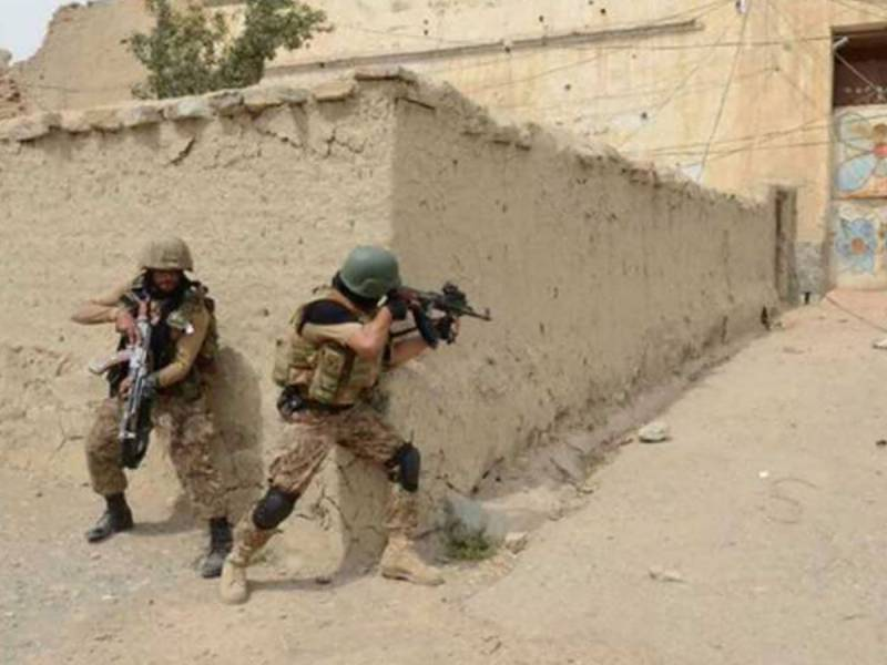 Two terrorists killed during operation in NW