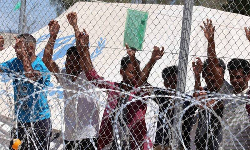 Greece inaugurates its first 'closed' camp for asylum seekers