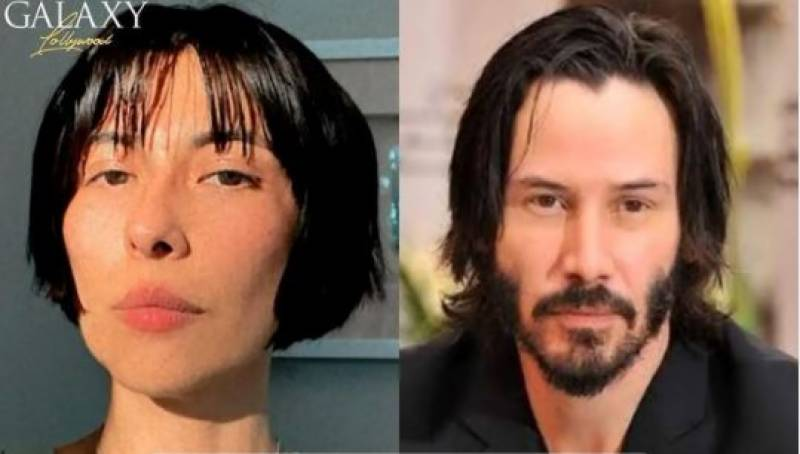 Is Meesha Shafi's new hairstyle inspired by Keanu Reeves?