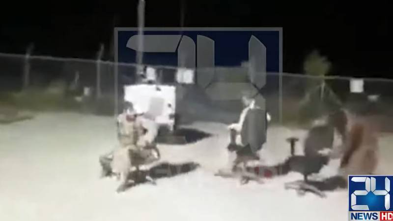 """Taliban introduces a new sports """"Chair Fight"""""""