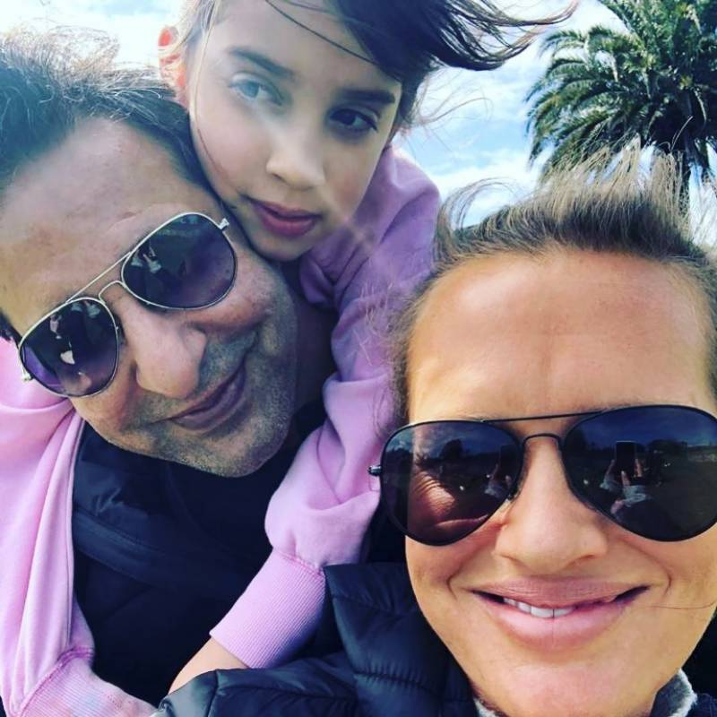 Wasim Akram's reunion with daughter turns gratifying as the family go on outings