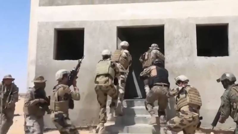 Pak armed forces contingent participates in multinational military drill in Egypt