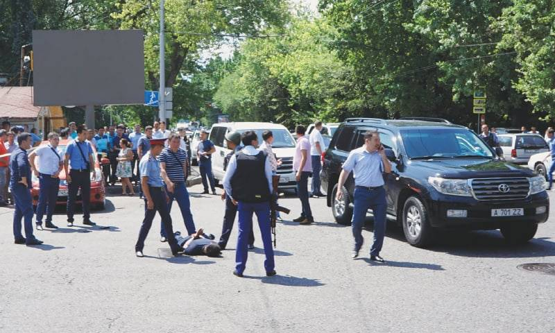 Five dead after shooting with police in Kazakhstan's Almaty