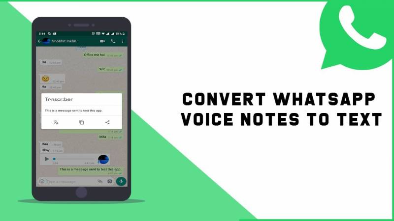 How to convert a WhatsApp voice message to text