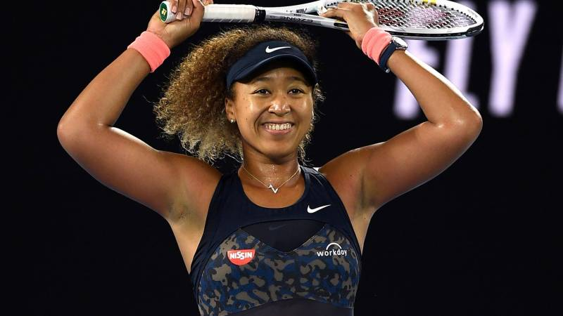 Osaka drops out of top five in WTA rankings