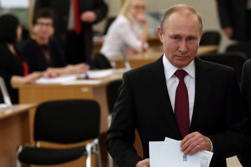 Putin thanks Russians for 'trust' after ruling party wins polls