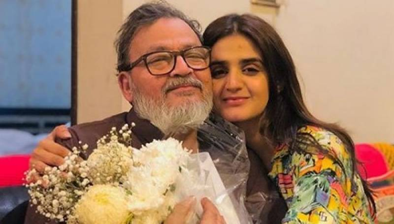 Sorrowful Hira Mani shares memories of her late father