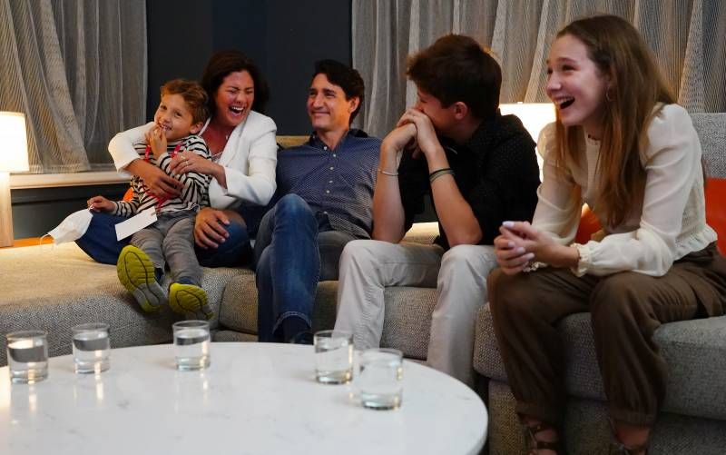 Justin Trudeau wins third term in Canada election