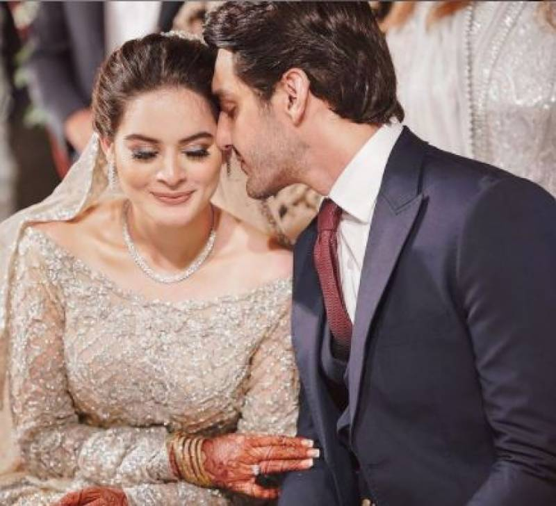 Minal Khan's 'real face' after midnight revealed by husband Ahsan