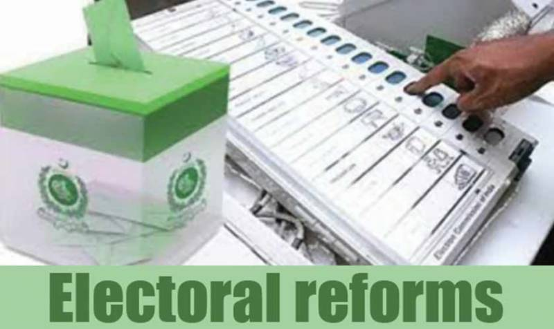 Opposition agrees to constitute joint parliamentary committee for electoral reforms