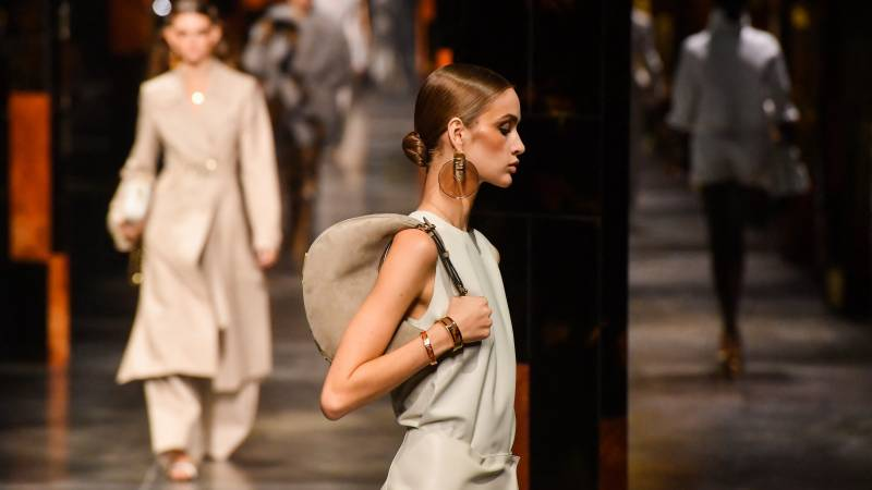 Disco and live audiences in Milan as Italy fashion seeks 'rebirth'