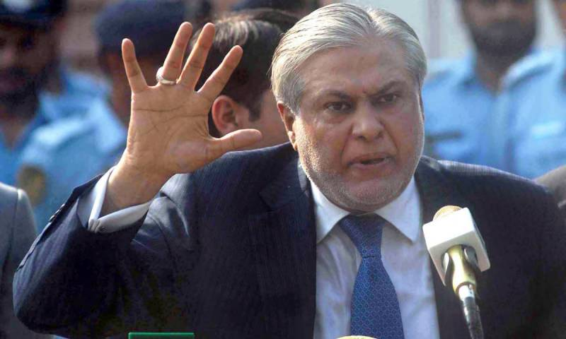 Ex-banker files acquittal plea in Ishaq Dar reference